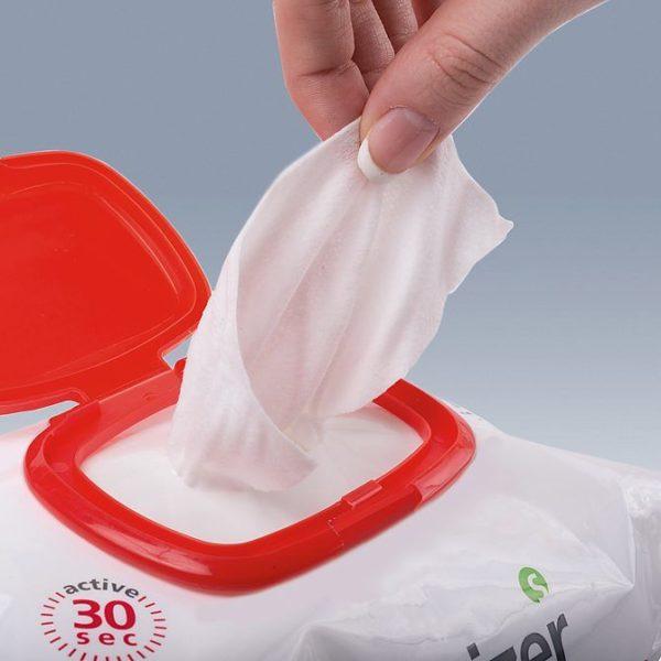 Biosanitizer S Oberflächendesinfektion Wipes / Wischtücher 100 Stk.