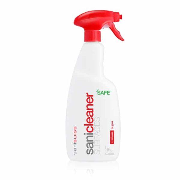 Saniswiss biosanitizer C1 ist ein umweltfreundliches Multioberflächenreiniger-Konzentrat und ist speziell für die Wartung von Fußböden und abwaschbaren Oberflächen geeignet.